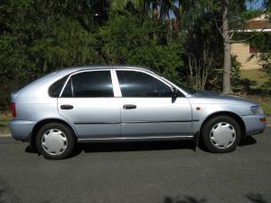 My lovely little car...