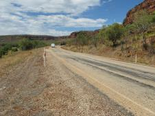Road through Gregory NP