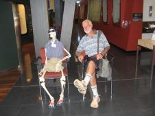 Geraldton museum skeleton staff