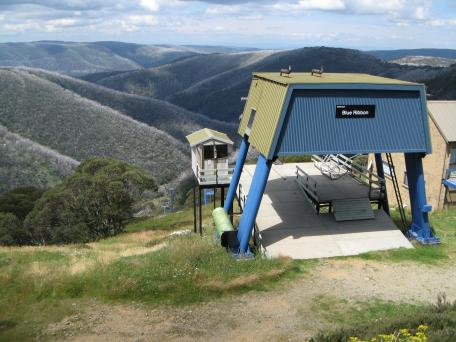 Mt Hotham chair lift