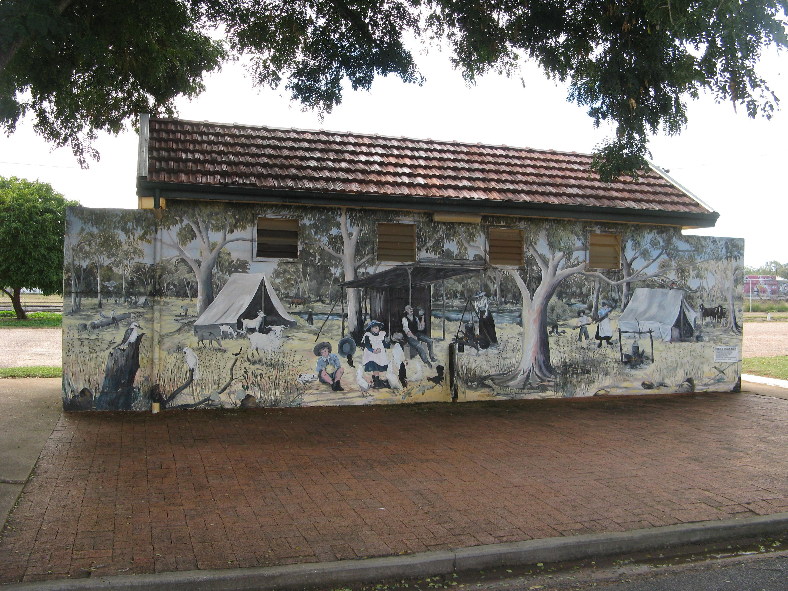 Alpha murals gypsy life for Australian mural