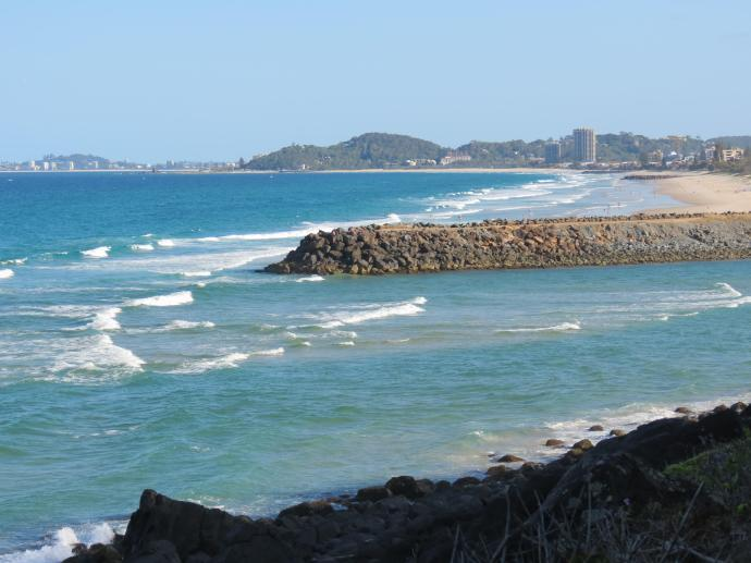 Mouth of the Tallebudgera River