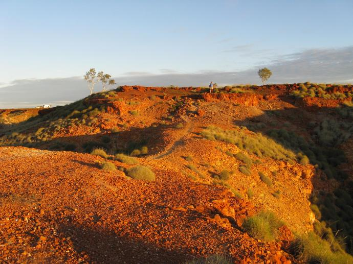 Early morning walk in the Gregory Ranges