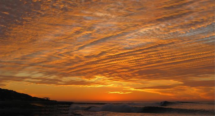 Kalbari sunset
