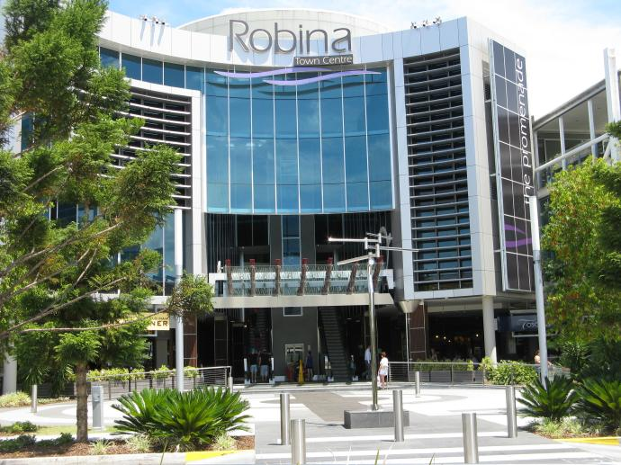 Robina shopping centre