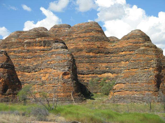 The Bungle Bungles domes