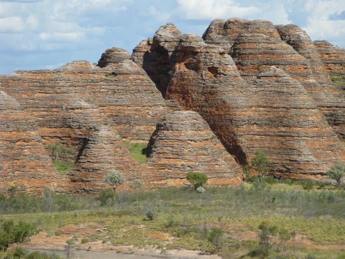 I had to include a photo from the ground they are the most amazing formations I have ever seen