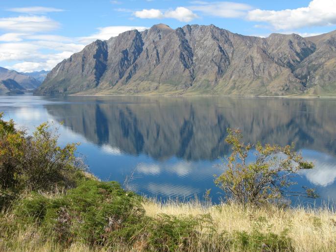 Lake Hawea reflections