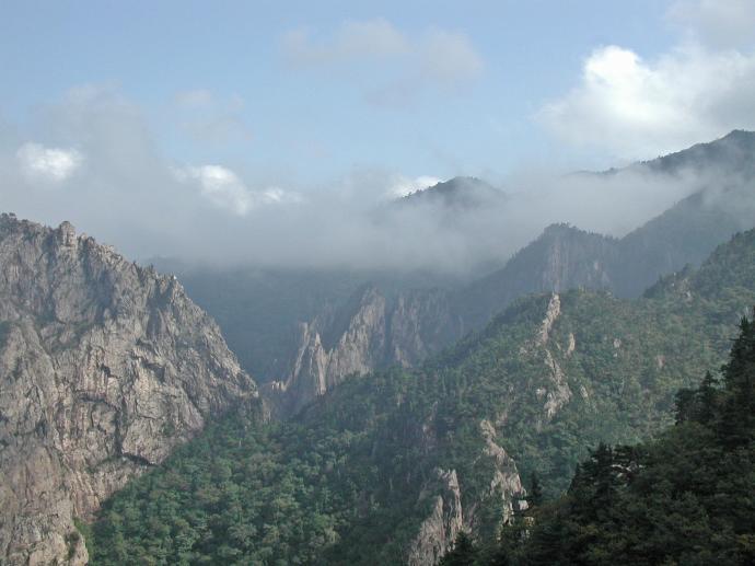 Mt Seoraksan