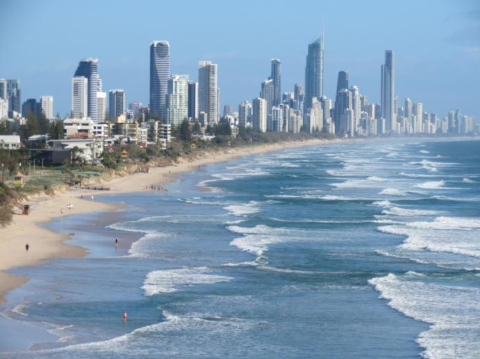 Surfers Paradise sky line