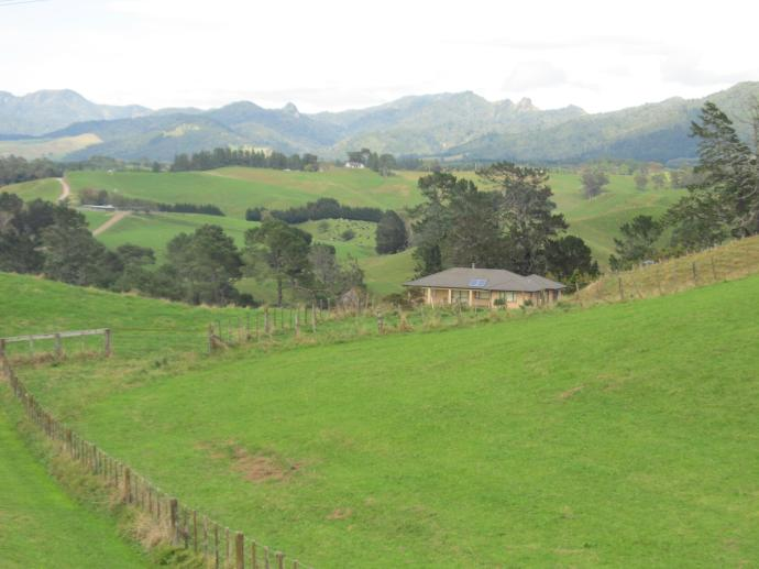 Bay of Plenty, what a good name for this rolling green farming country in NZ