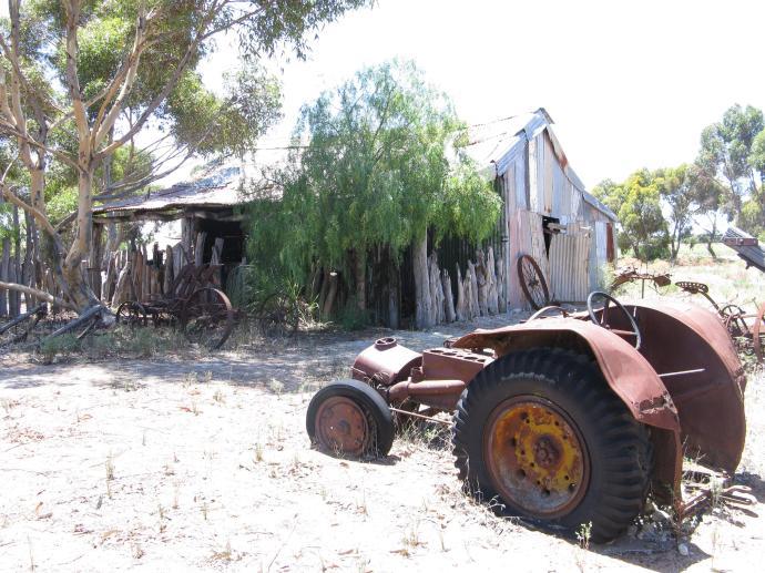 An old farm house