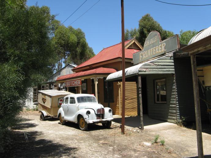 Old delivery van