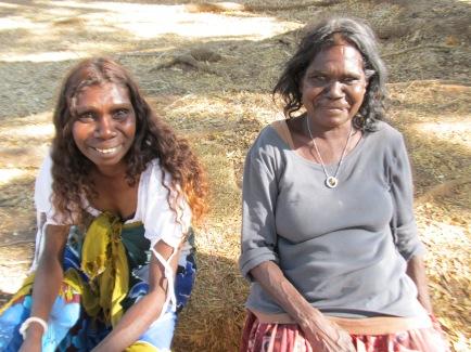 Aboriginal ladies (photo by Jack)