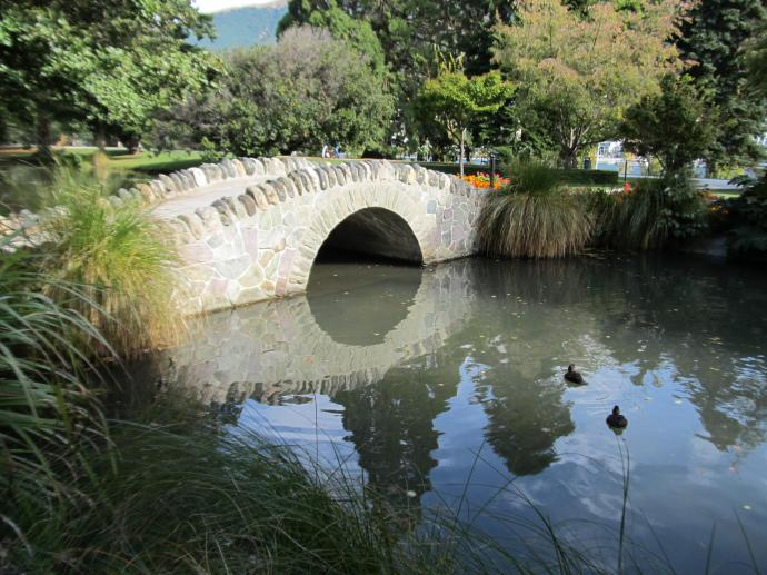 Queenstown botanic gardens, Sth. Island New Zealand