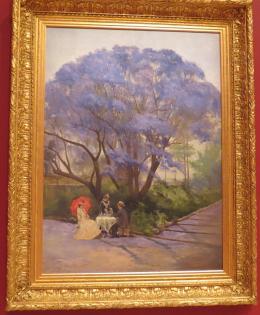 The jacaranda tree one of my favourite paintings
