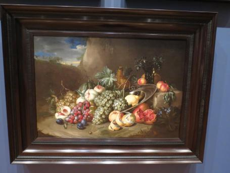 Beautiful old master. I love the colour and detail in this painting