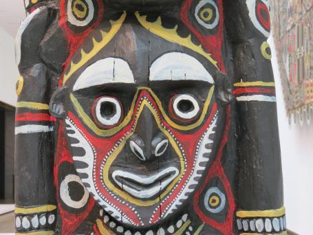 Papua New Guinea art. Do you like this one LIsa?