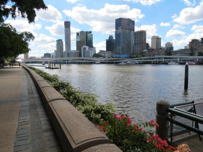South Bank river walk