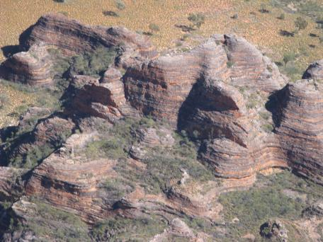 The Bungles from the air