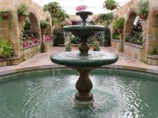 French fountain in the conservatory