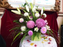 Prize winning floral arrangement