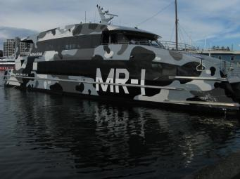 Ferry boat to MONA