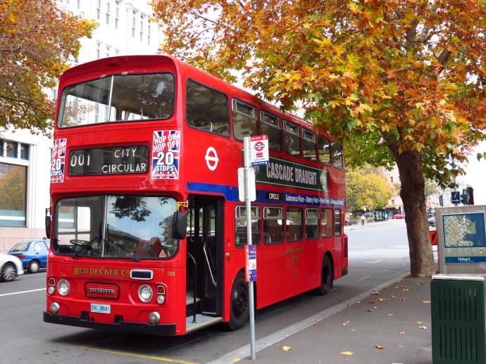 """The """"hop-on, hop-off"""" tour bus"""