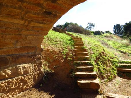 Richmond bridge steps