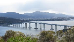 Tasman Bridge across the Derwent River