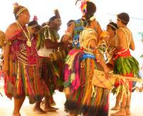 Papua New Guinea dancers