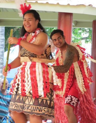 Te Fanua, Polynesian Island dancers