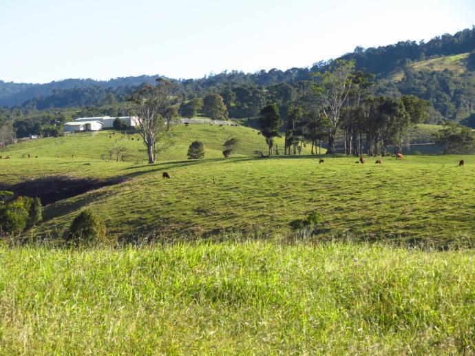Rolling, fertile farmland