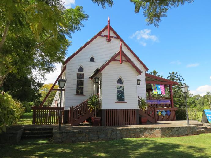 This church has been reborn as an art studio.