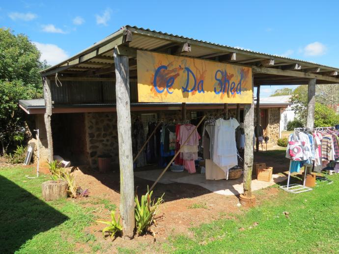 This studio and craft shop was originally the laundry of the Yungaburra hotel built 1920's