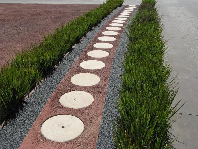Aboriginal art copied in concrete