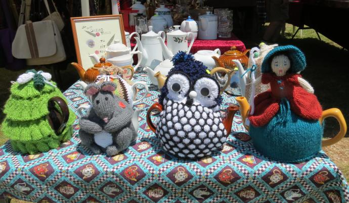 Imaginative tea-cosies