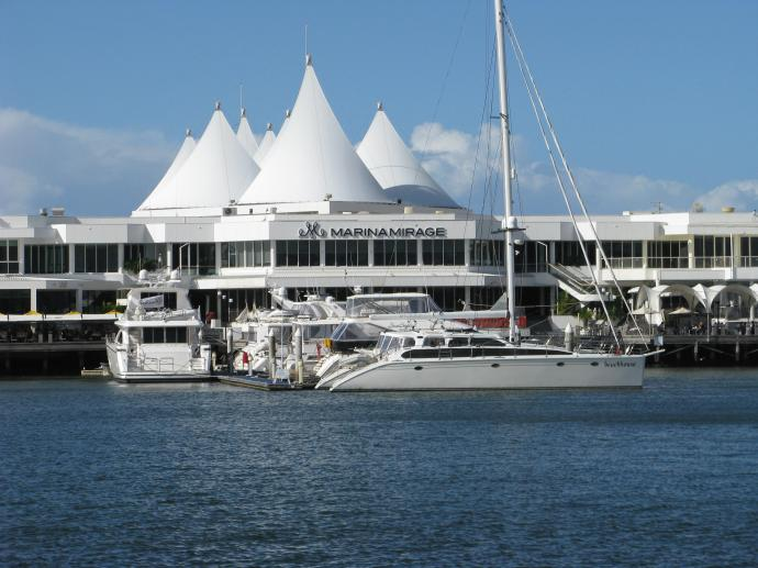 Marina Mirage exclusive shopping centre all the exclusive boutiques can be found here