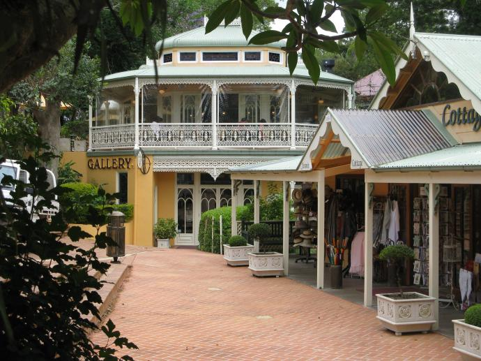 A pretty place to browse the shops