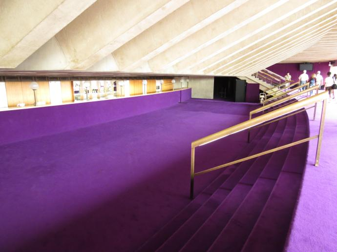 Royal purple carpets