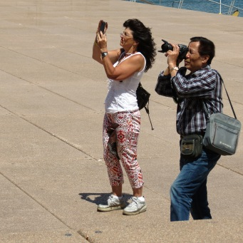 We are not the only ones taking photos, it is an international past time.