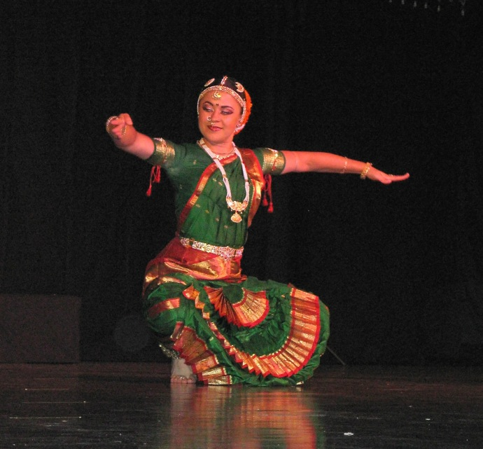 Indian Temple dancing