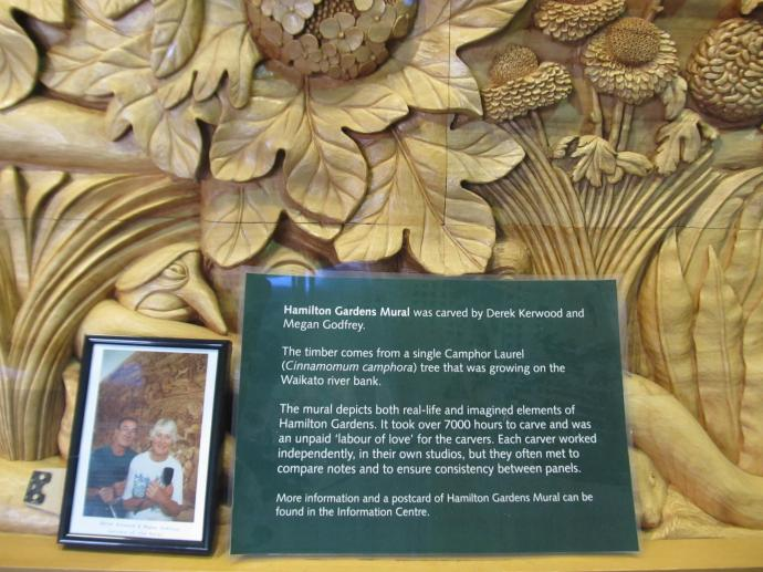 A different type of wood carving