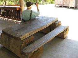 Very sturdy bench