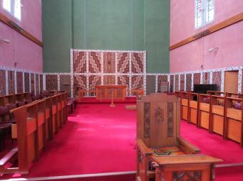 This is the beautiful Maori Memorial Chapel