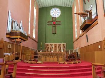 The organ is one of the finest in New Zealand