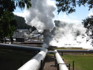 Wairakie thermal power