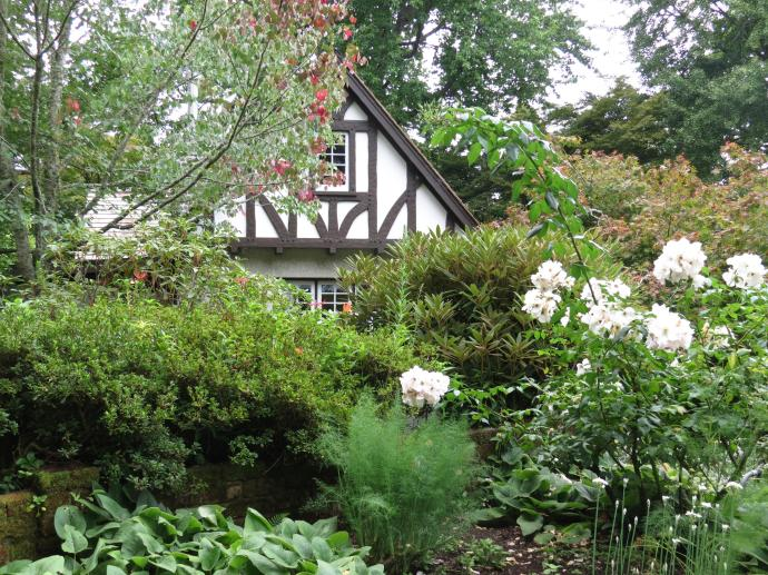 Built in the English Tudor style and designed by Chapman-Taylor