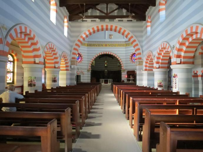 The interesting Byzantine architecture of St Francis Xavier Cathedral