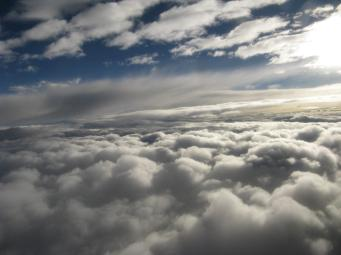 We rise above the clouds